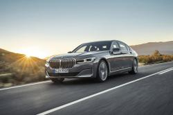 This photo provided by BMW shows the BMW 7 Series, a large luxury sedan that has received notable updates for 2020, including a distinct grille and other exterior styling changes