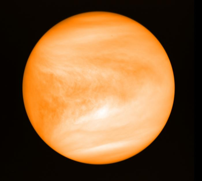 Venus, seen from the Japan Aerospace Exploration Agency's Akatsuki probe.
