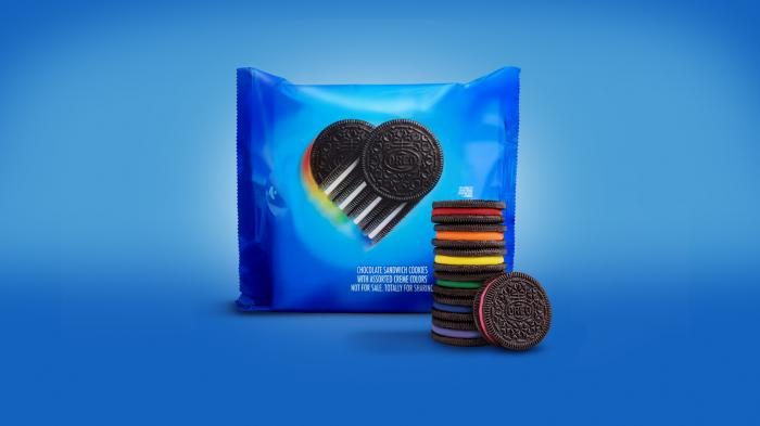 #ProudParent Oreo Rainbow Cookies