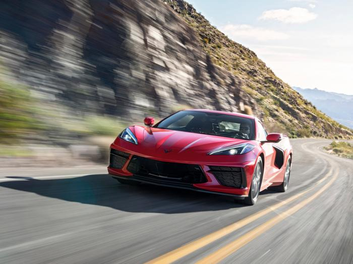 This photo provided by Chevrolet shows the 2020 Chevrolet Corvette. The Corvette's new mid-engine layout has increased performance and propelled it into an entirely different class of vehicle