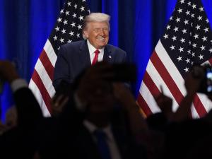 As Campaign Heats Up, Trump Woos Latino, Black Voters
