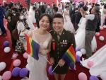 Two Same-Sex Couples in Military Marry in First for Taiwan