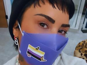 Demi Lovato Launches HENRY Mask Pride Month Collaboration